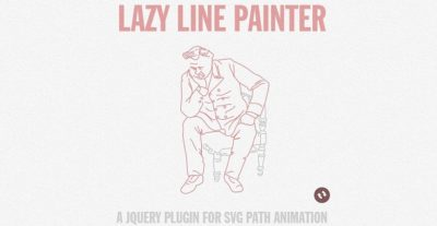 Lazy Line Painter for SVG Animation