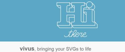 VivusJS for SVG Animation