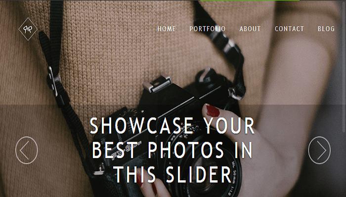 Rokophoto WordPress theme for photographers