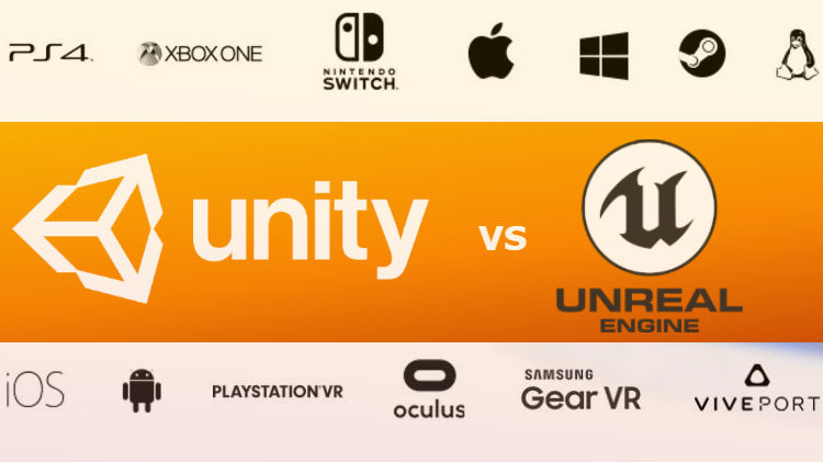 unity vs unreal  selecting the right game engine